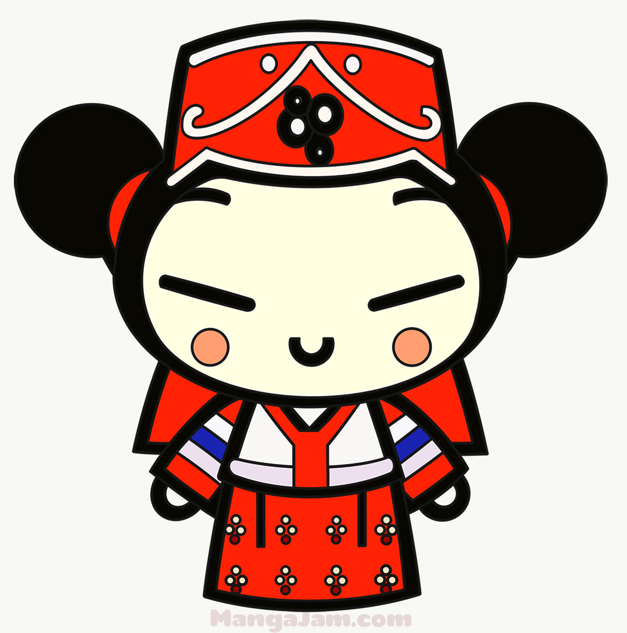 How To Draw Pucca From Pucca Mangajam Com